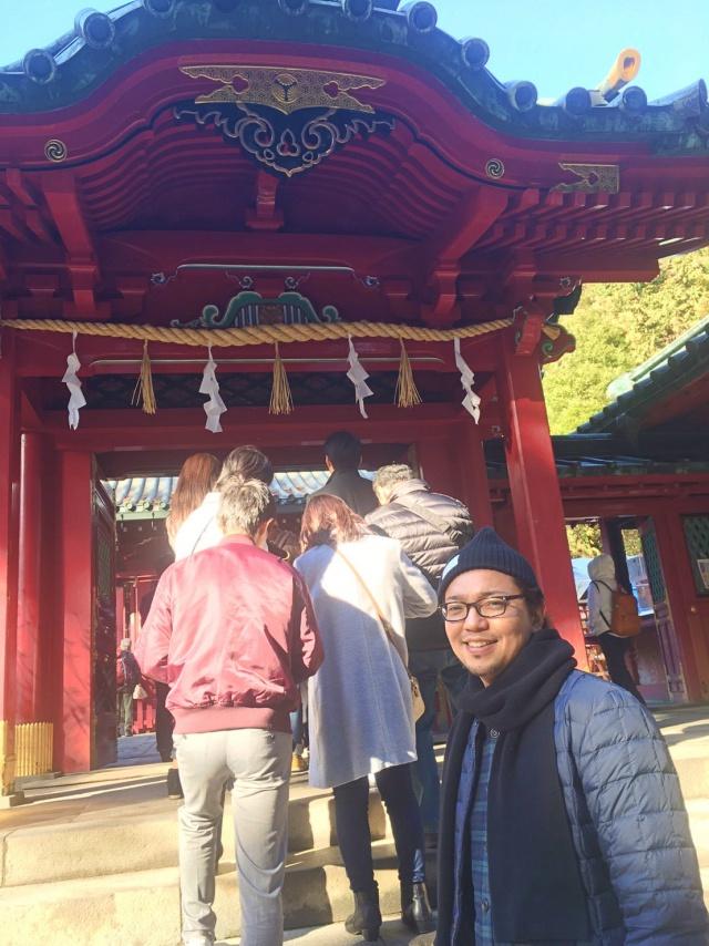 セミナー参加者の皆様の商売繁盛をお祈りしてきましたよ@箱根神社|Kawada Takeshi